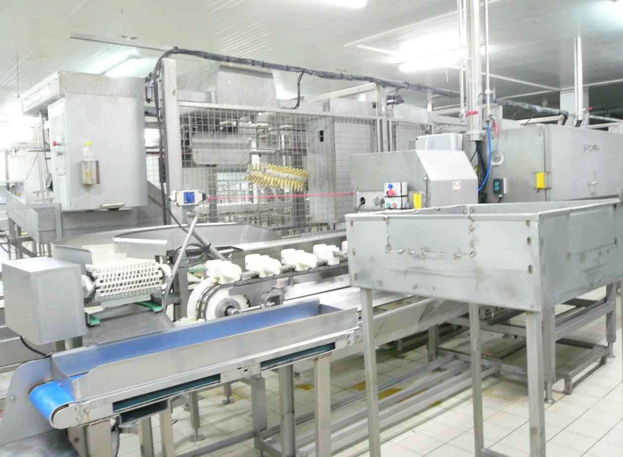 Gebruikte machines voedingsindustrie